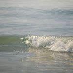 ola reflejada, óleo sobre lienzo, 81x100 cm.