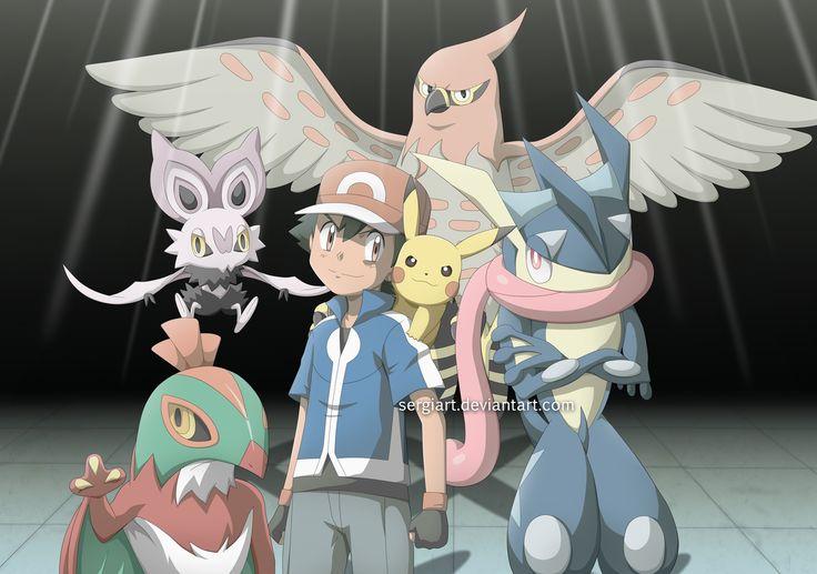 Pokemon XY and Z - Ikuze!! by SergiART.deviantart.com on @DeviantArt