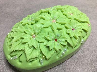 一番早い桜祭り ソープカービングSoap carving work#craft