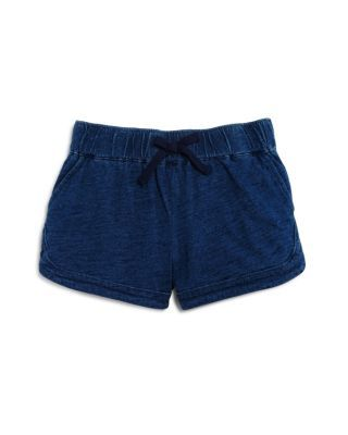Splendid Girls' Denim Look Knit Jog Shorts - Sizes 2-6X | Bloomingdale's