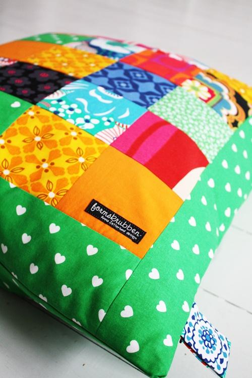 Min glada lappkudde! My happy pillow!