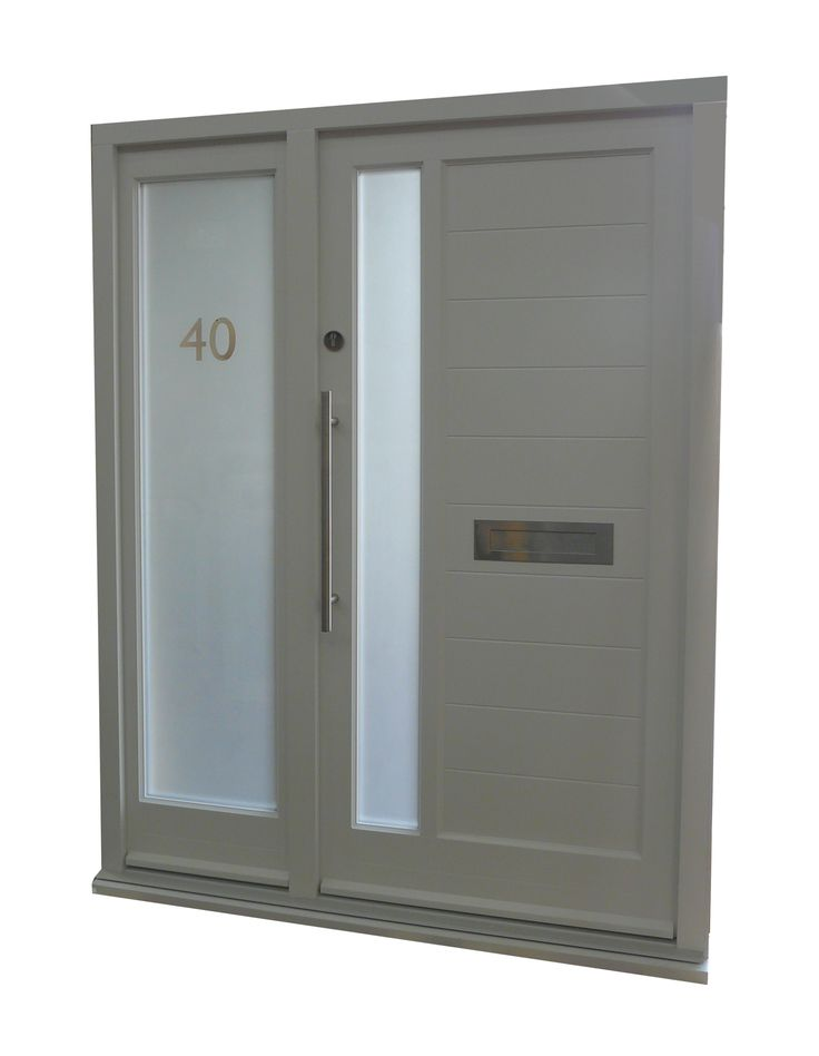 Image result for front doors with side panel