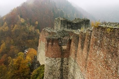 Poenari Castle was once the home of Vlad the Impaler and is said to be one of the most haunted places in the world.