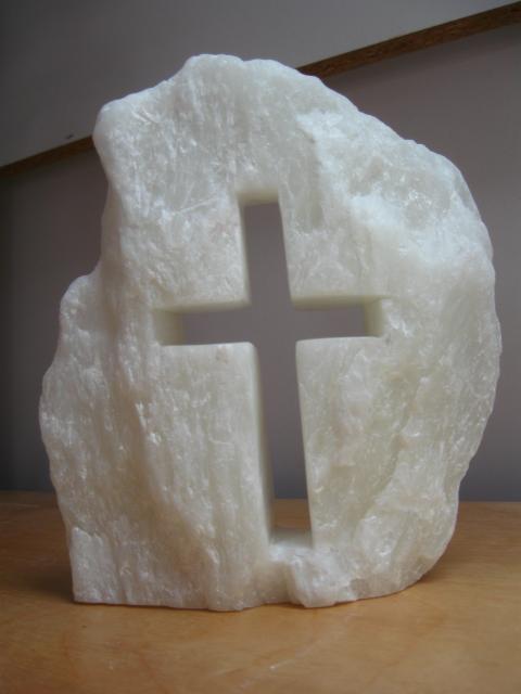open kruis speksteen