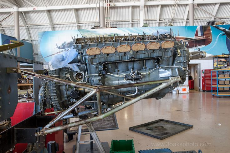 Merlin Engine, could be a Packard or RollsRoyce.