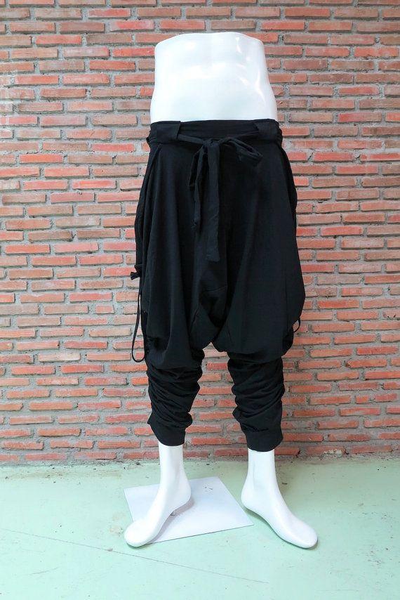 Ommme Harem Pants 001 Black Clothes Harem Pants Pants
