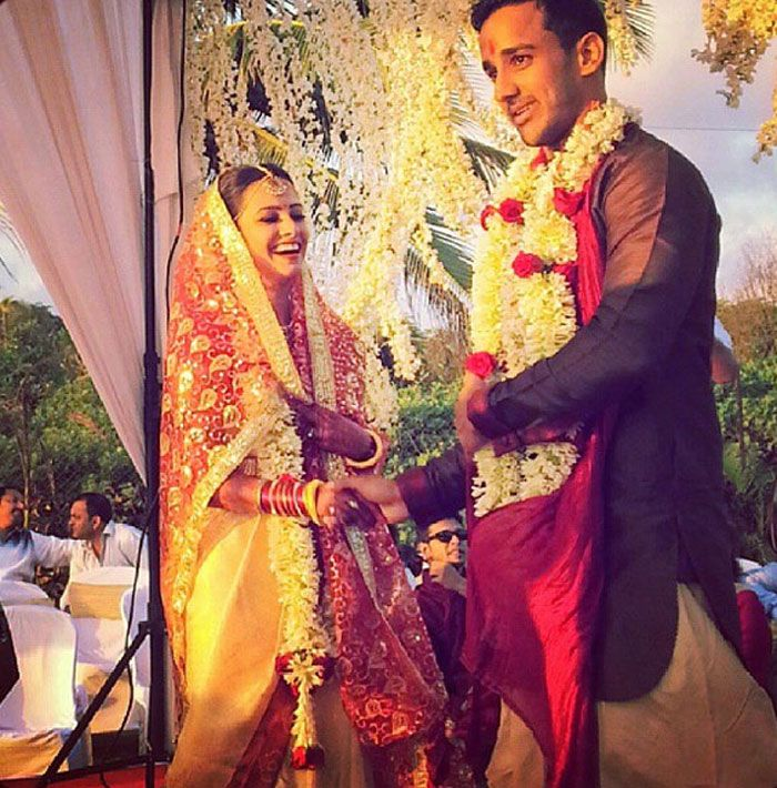 Oct 2017 Tv Actor Anita Hanandani And Rohit Reddy S South Indian Wedding In Goa