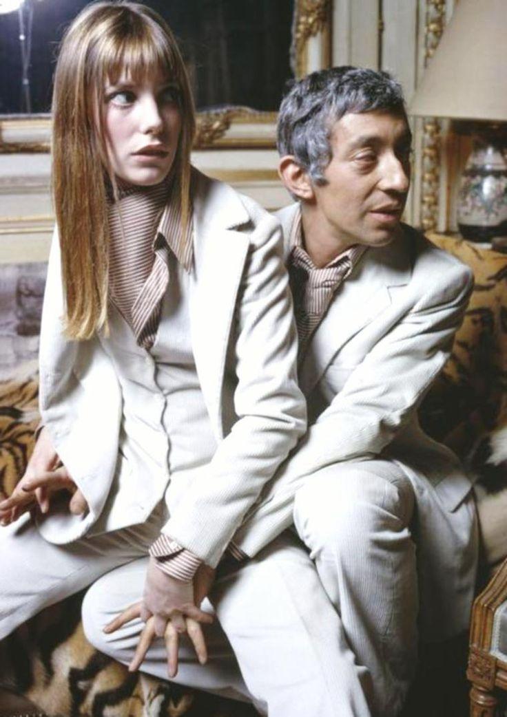 COUPLE DE LEGENDE : Jane BIRKIN et Serge GAINSBOURG / RENCONTRE / E...