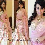 Trisha in Anushree Reddy Lehenga At NAC Jewellery Store Launch!