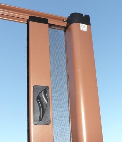 retractable fly screen for back doors