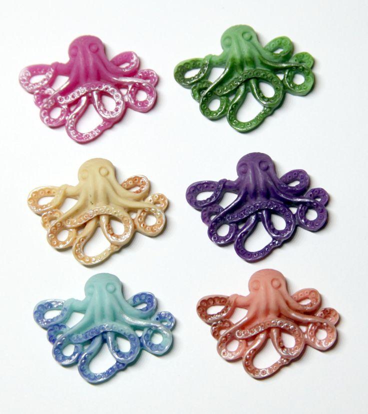 Octopus needle minder - needleminder pinminder needlecraft accessory by UnconventionalX on Etsy