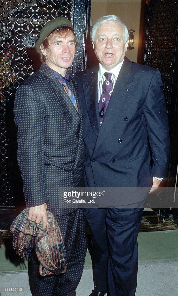 News Photo : Rudolf Nureyev and John Taras during Dinner...