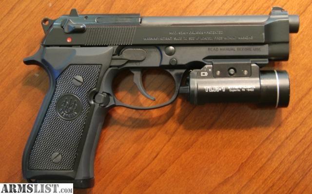 Beretta 92a1 Rail 9mm Gun Pinterest