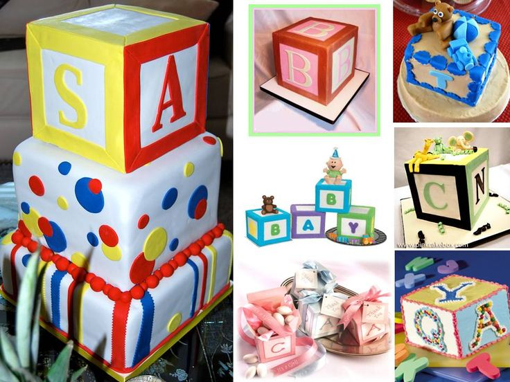 Top 377 ideas about baby on pinterest baby for Alphabet blocks cake decoration