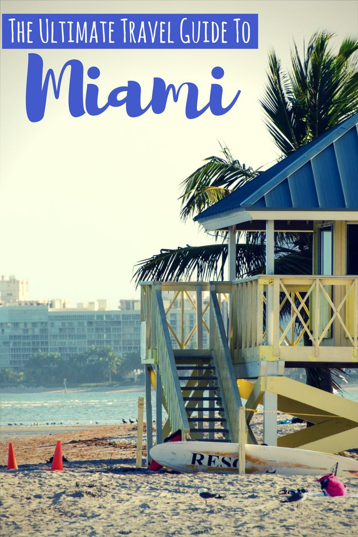 From raucous nightlife to laid back beaches, Miami truly has something for everyone. Check out this travel guide to Miami.
