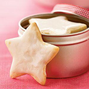 Swedish Almond Cardamom Stars   CookingLight.com