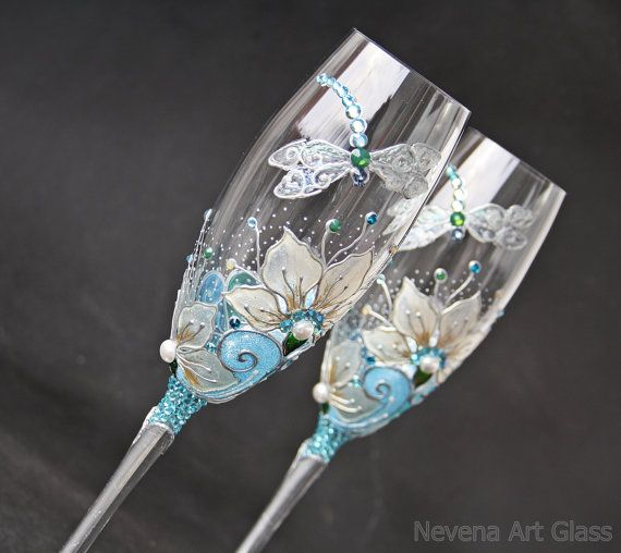 Hey, I found this really awesome Etsy listing at https://www.etsy.com/listing/161905757/wedding-glasses-champagne-flutes-wine