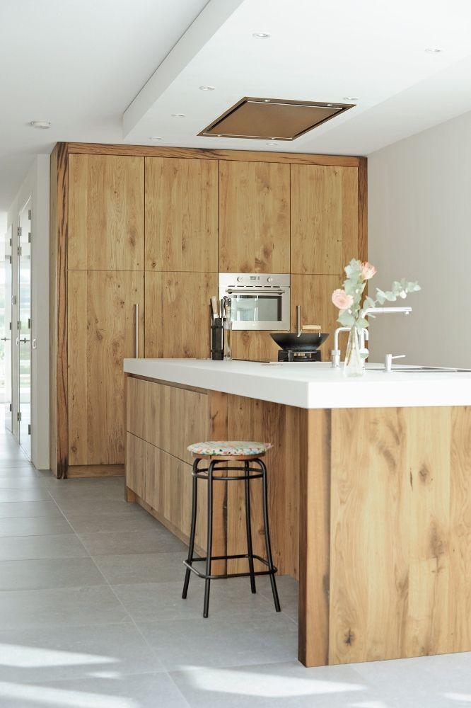 RestyleXL houten keuken van wagondelen - Product in beeld - - Startpagina voor keuken ideeën | UW-keuken.nl