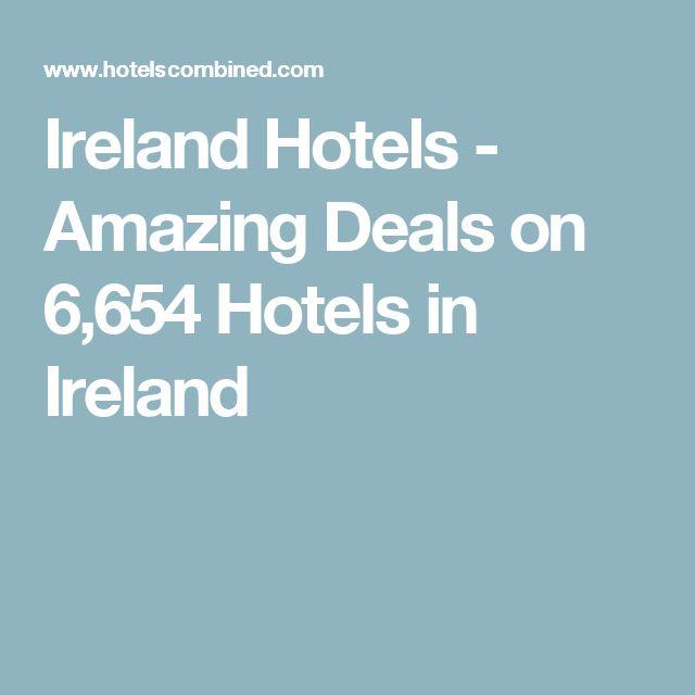 Ireland Hotels - Amazing Deals on 6,654 Hotels in Ireland
