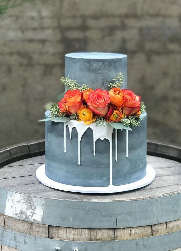 100 hübsche Hochzeitstorten, die Sie inspirieren – Hochzeitstorten-Ideen, stimmungsvolle Hochzeitstorten …   – Wifey