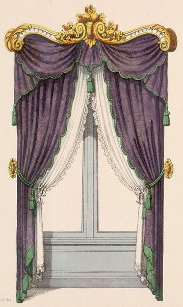 33 Best Images About Victorian Drapes And Portieres On