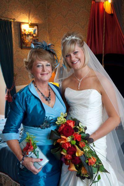 Bride Beckie And Mother of Bride Liz