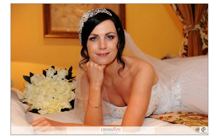 #Bride portrait at a #bartlehallwedding