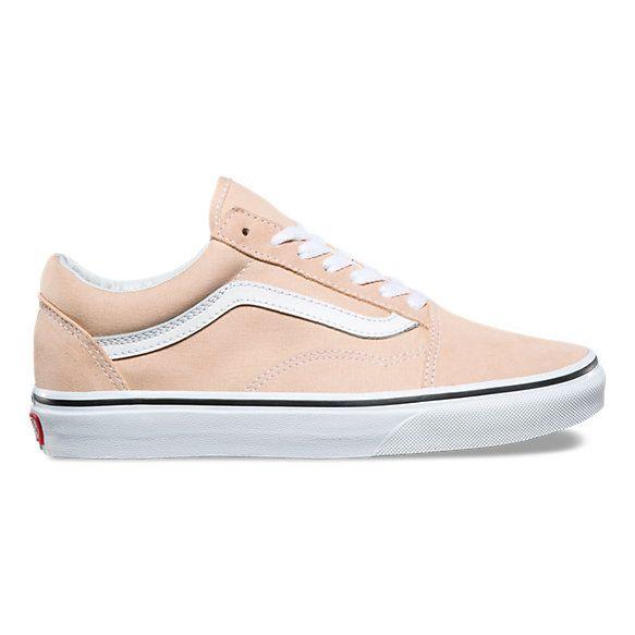 Peach vans, Vans shoes, Vans