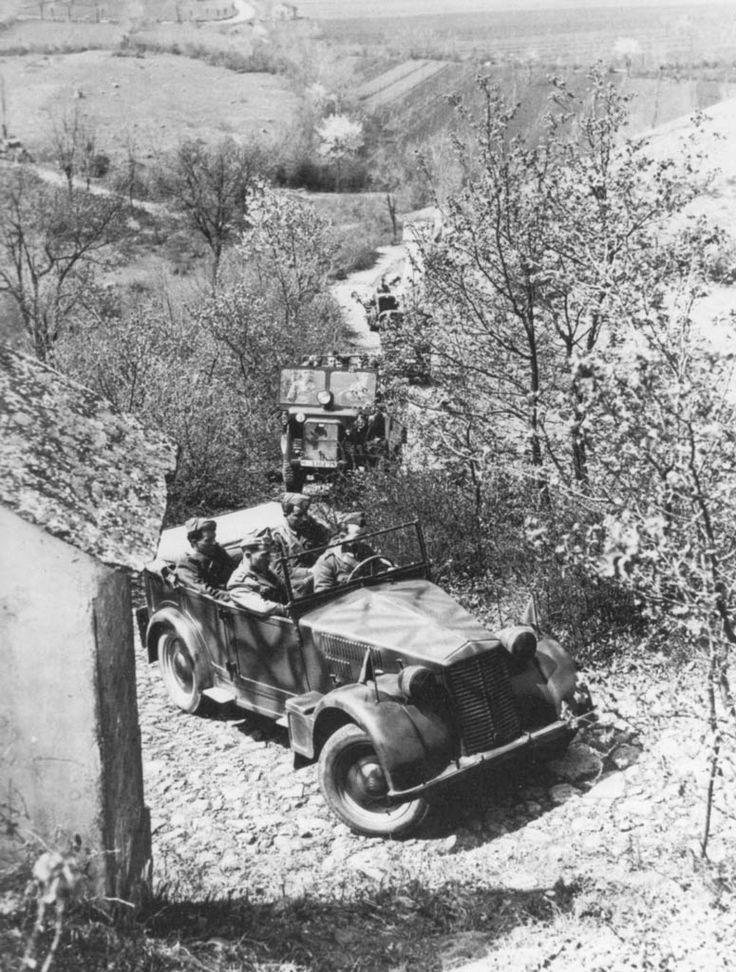 Unique voiture de production italienne capable de se déplacer en tout-terrain pendant la guerre, la Fiat 508 CM fut la voiture la plus répandue dans l...
