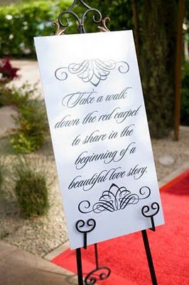 "red carpet wedding theme | day was centered around an ""Old Hollywood"" theme, the red carpet ..."