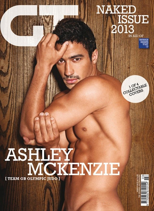 Atletas olímpicos tiram a roupa em revista britânica na luta contra Aids.