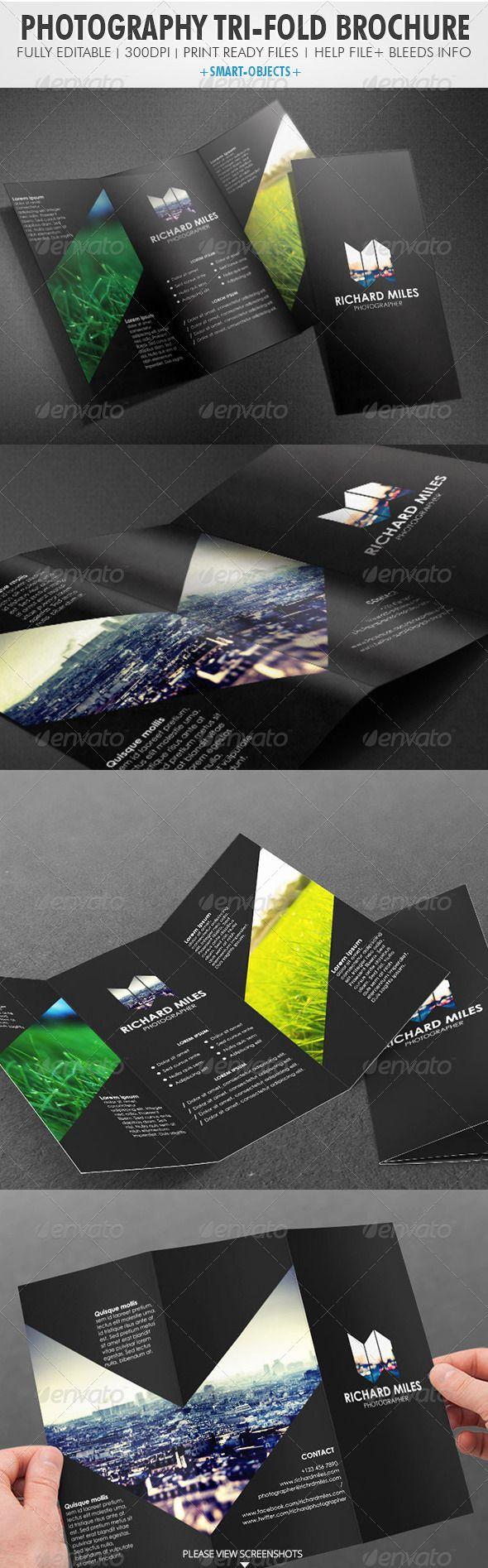 Photography Tri-fold Brochure http://graphicriver.net/item/photography-trifold-brochure/4027623?WT.ac=portfolio_1=portfolio_author=Realstar