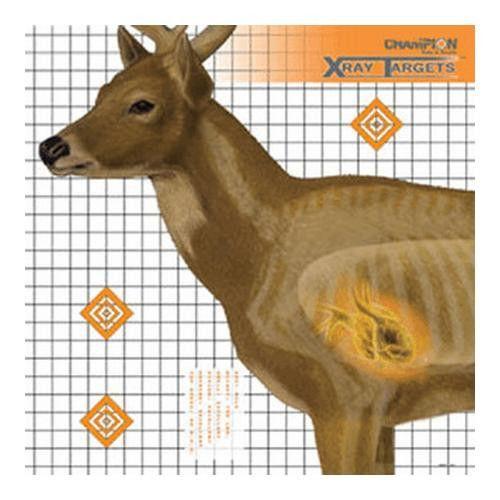 Deer Target 25x25 (6 Pack)