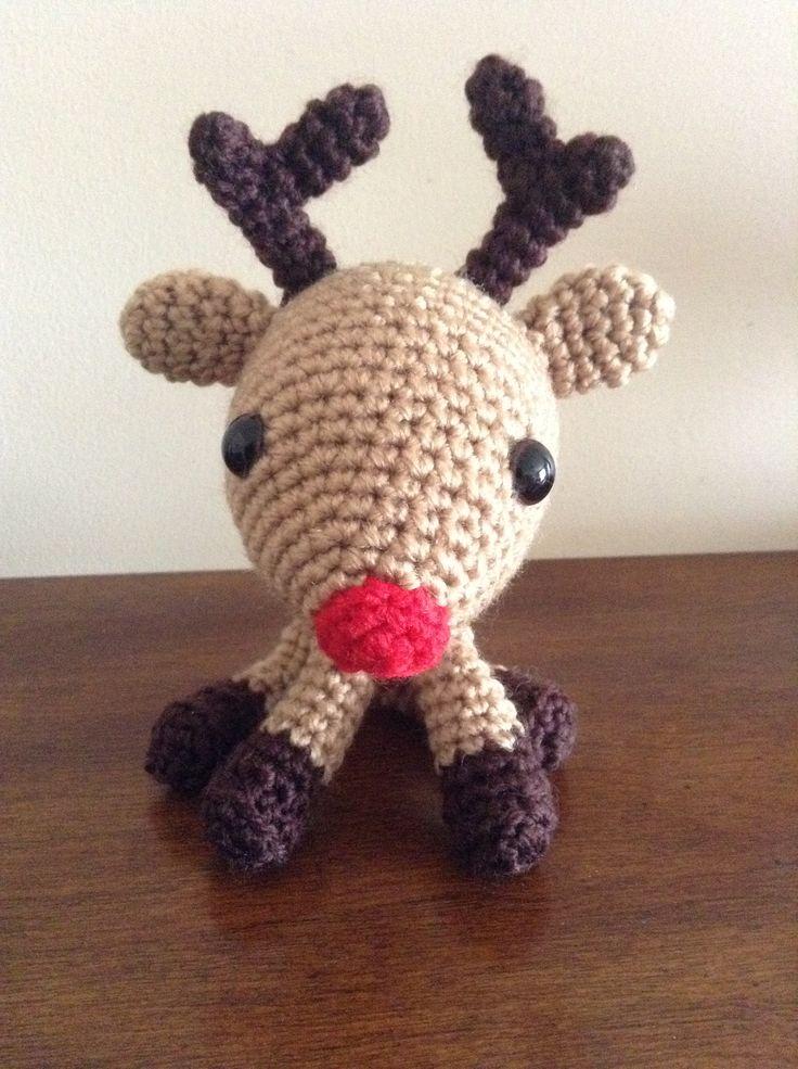 Crochet Amigurumi Little Reindeer