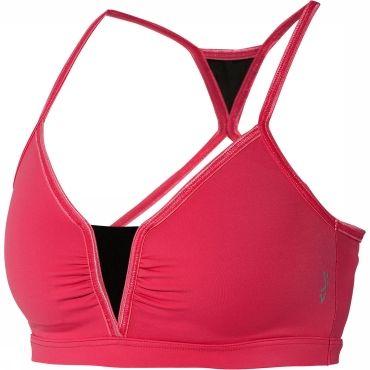 De Nicole Sport Top van het Zweedse damessportkledingmerk Röhnisch is een sportbh voor gemiddeld intensieve trainingen. De dunne schouderban...