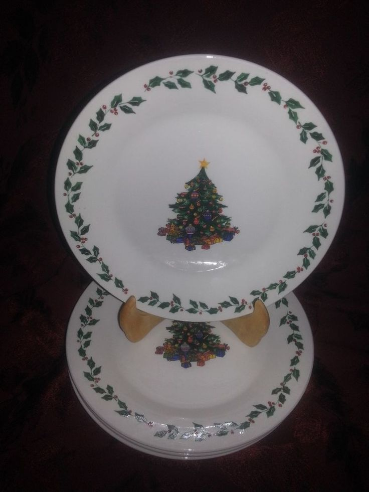 103 best CHRISTMAS PLATES images on Pinterest   Christmas dishes ...