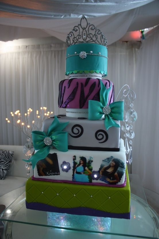 Pin Quinceanera Traditions And Ideas Joanna Lepe Album Images Cake on ...