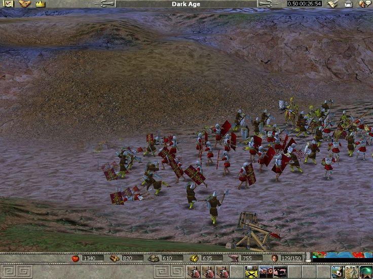 Retrouvez l'image n°2 sur un total de 18 pour Empire Earth : The Art of Conquest sur PC