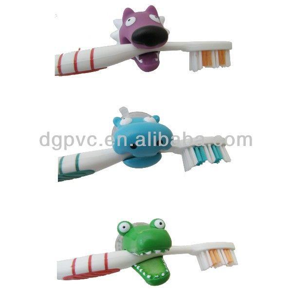 Copos de sucção titular escova de dente, montagem na parede suporte do toothbrush, escova de dentes stand-Conjuntos de Casa de Banho -ID do ...