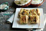 La quiche di riso è un piatto al quale basta abbinare un' insalatina o delle verdure grigliate per un pasto completo e buonissimo! Un guscio di pasta brise contiene riso spinaci formaggio cremoso stra