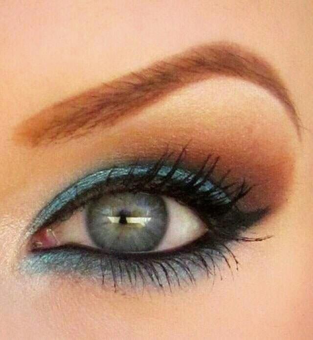 Blue eyes makeup, silver eyes makeup, green eyes makeup, hazel eyes makeup, I LOVE IT