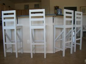 Home. Kids. Life.: DIY Extra Tall Bar Stool Plans