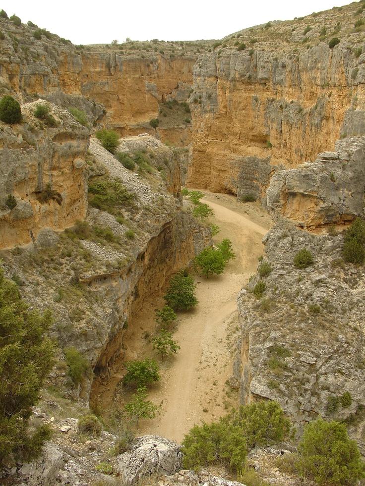 Cañón fluvio-karstico del Barranco La Virgen (Hoz Seca)