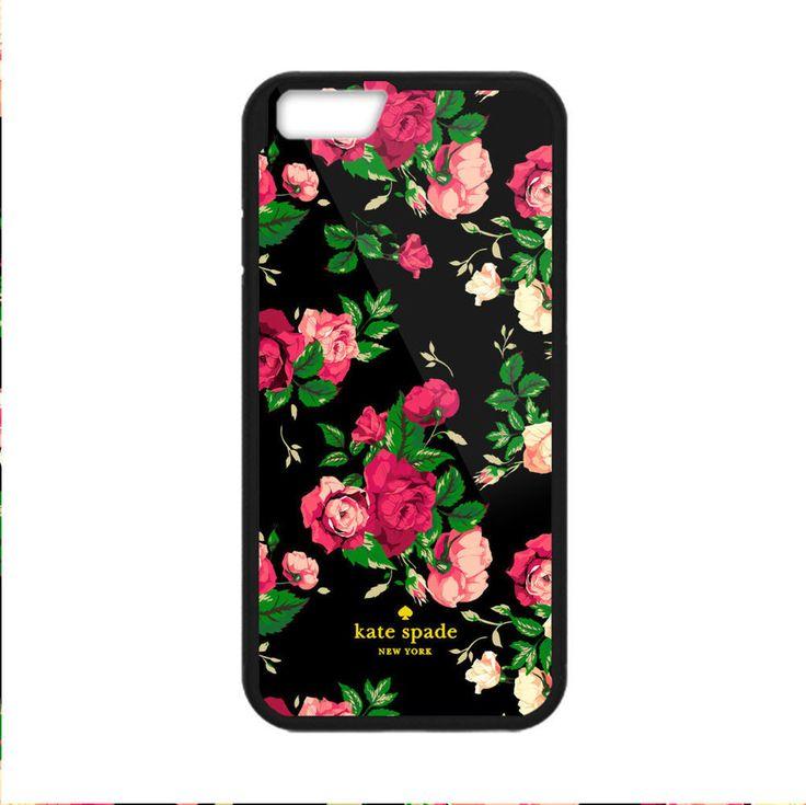 Best New Kate spade Black Pink Roses Print on Hard Case For iPhone 6/6s 6s+ 7/7+ #UnbrandedGeneric #Cheap #New #Best #Seller #Design #Custom #Case #iPhone #Gift #Birthday #Anniversary #Friend #Graduation #Family #Hot #Limited #Elegant #Luxury #Sport