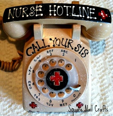 One of the phones that I painted for a special order. If you know me, you know that sometimes my paint surfaces are a bit unconventional! www.facebook.com/squarenailcrafts