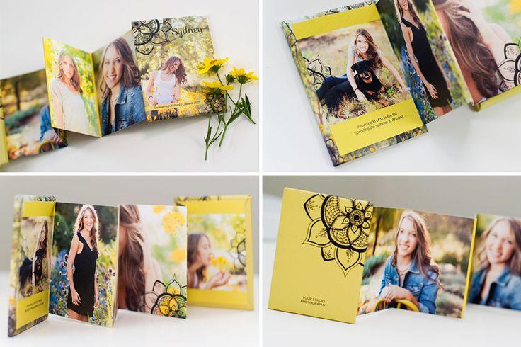 product spotlight – high school senior mini books: sophisticated cool