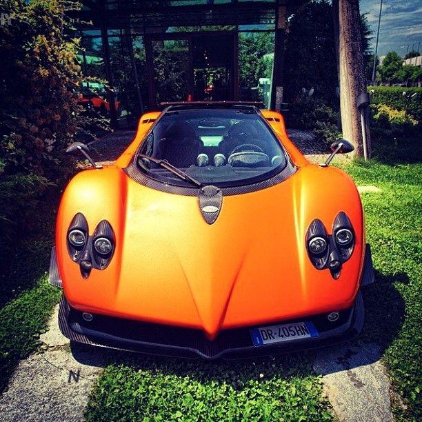 Orange Pagani Zonda: 366 Best Exotic Cars Images On Pinterest
