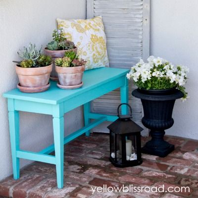 Best 20 small porch decorating ideas on pinterest for Idea deco guijarro exterior
