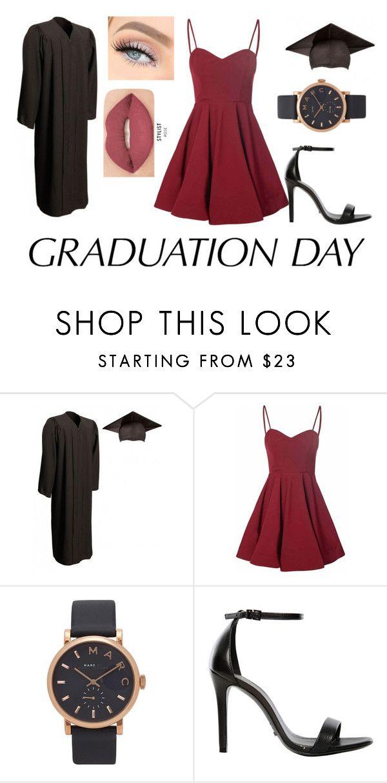 """Graduation Day Dress"" by lilyrose2000 on Polyvore featuring Glamorous, Marc Jacobs, Schutz, Smashbox and graduationdaydress"