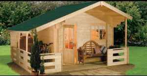 Tiny Wooden Homes Under $5000, this would make a beautiful guest house!